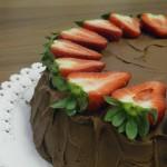 dovolena s detmi cokoladovy dort